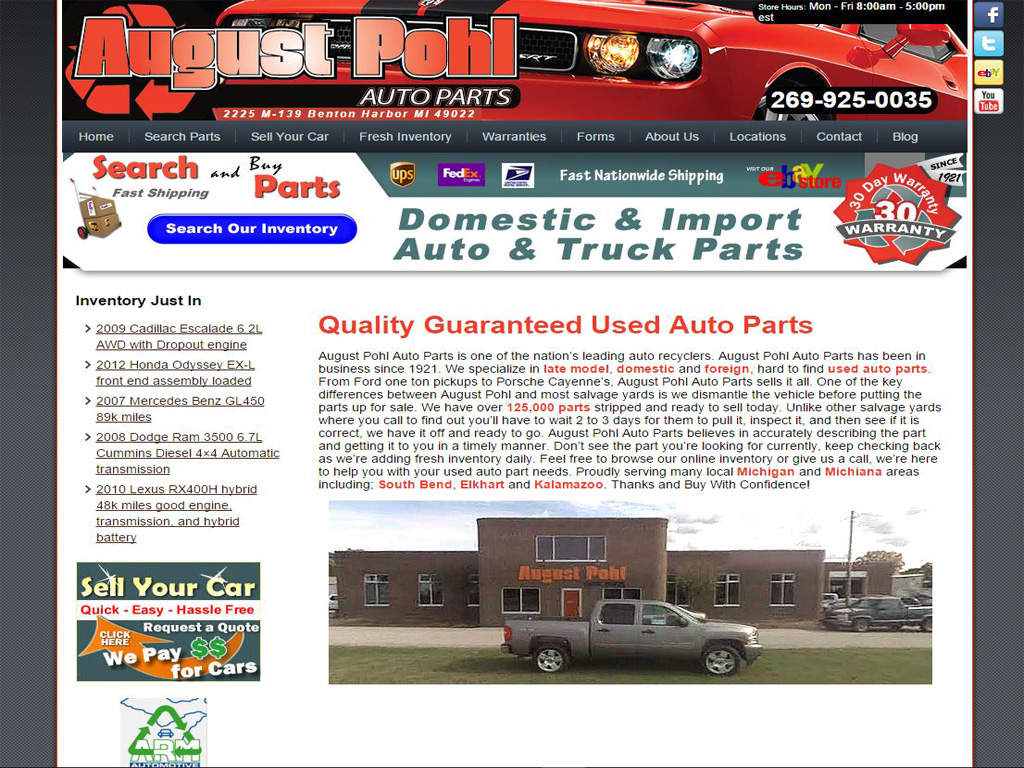 August Pohl Auto Parts Briscoweb 2012 Dodge Ram Battery Brian Holzberger2016 02 15t175008 0000