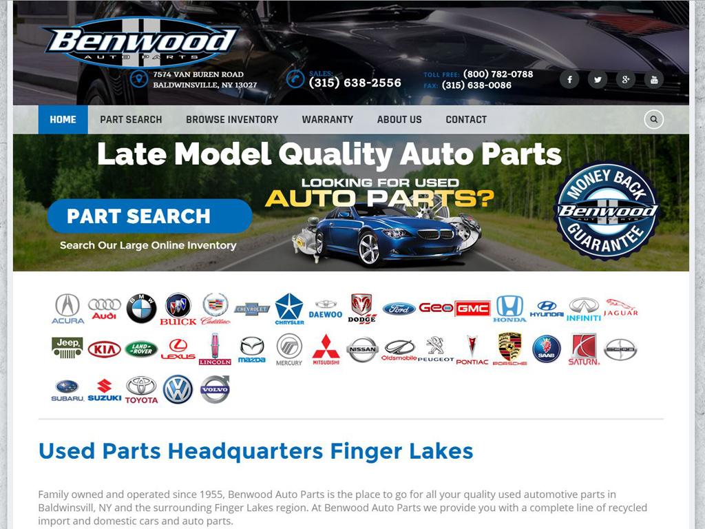 Benwood Auto Parts - BriscoWeb