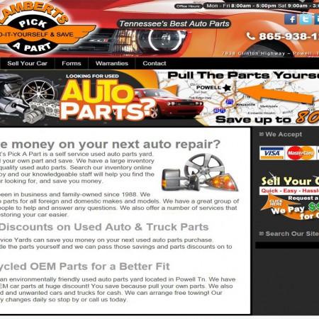 Allstate Used Auto Parts - BriscoWeb