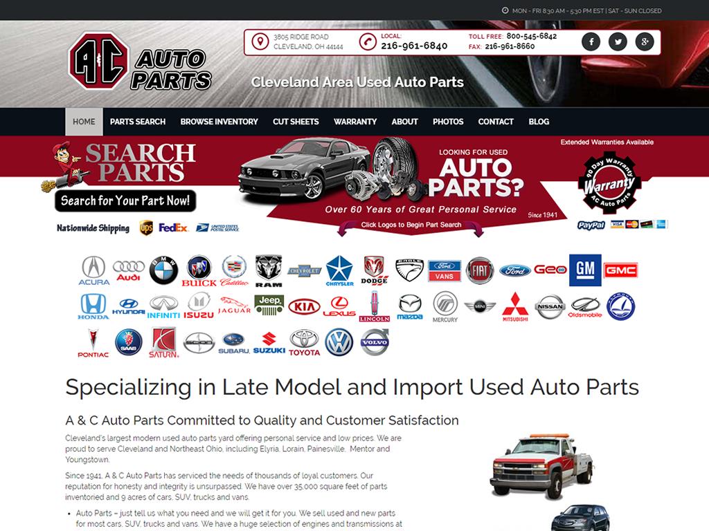 A & C Auto Parts - BriscoWeb