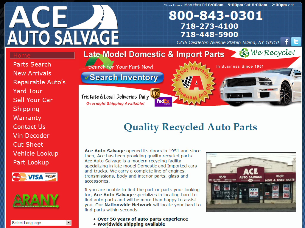 Ace Auto Salvage >> Ace Auto Salvage Briscoweb