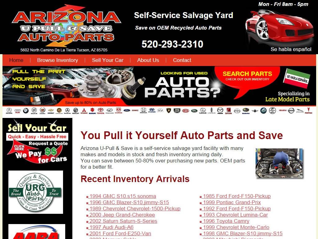 U Pull U Save >> Arizona U Pull And Save Briscoweb