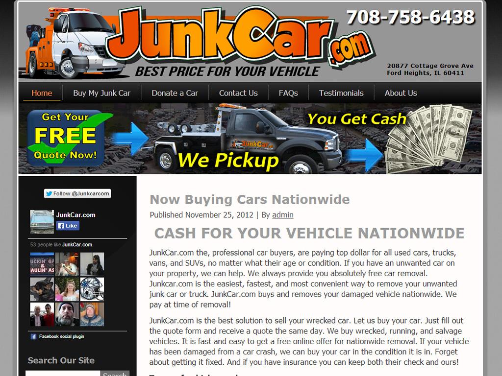 Junk Car - BriscoWeb
