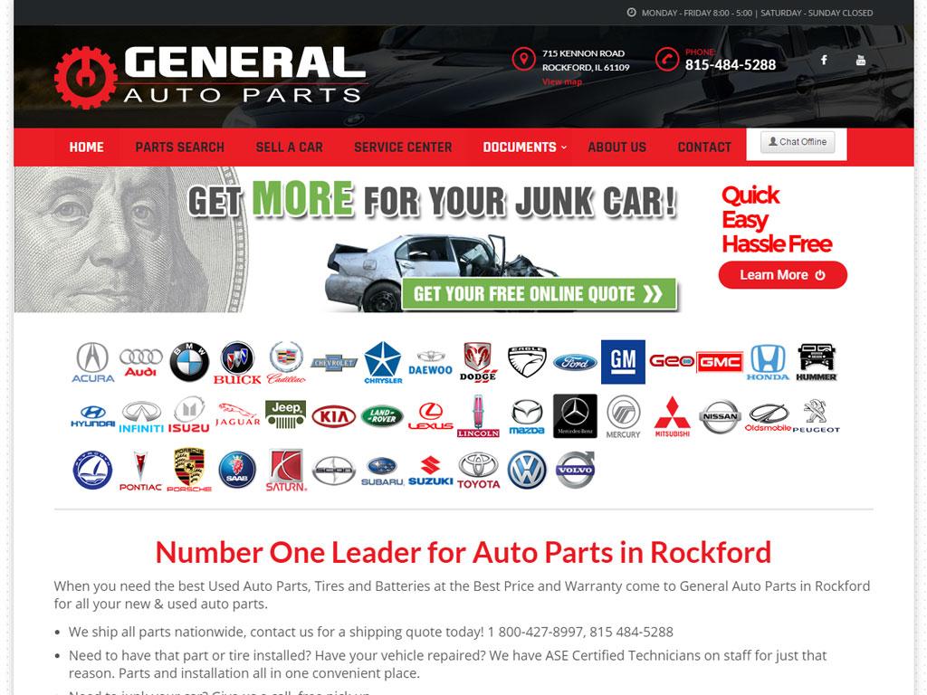 The General Auto Quote General Auto Parts  Briscoweb