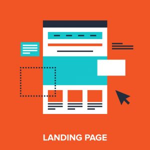 Landing page for Google Adwords